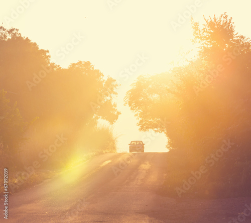 Staande foto Meloen Road