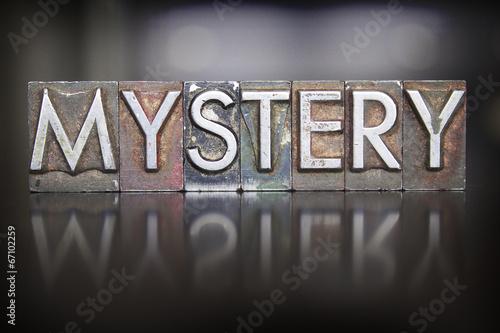 Photo Mystery Letterpress