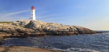 Peggy Cove Lighthouse, Nova Sc...