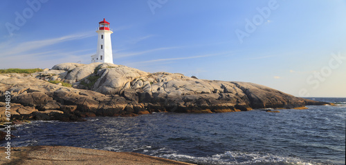 Peggy Cove Lighthouse, Nova Scotia, Canada Slika na platnu