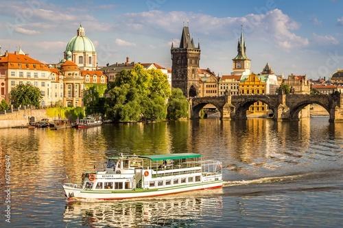 Staande foto Praag Karlsbrücke in Prag