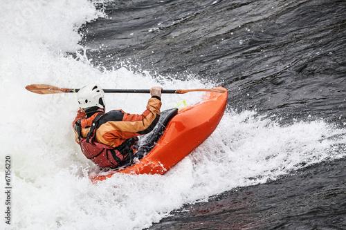 Fotografía  kayaker