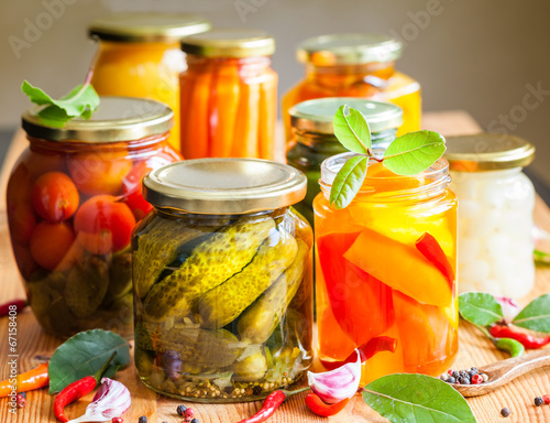 Photo  Vegetable preserves