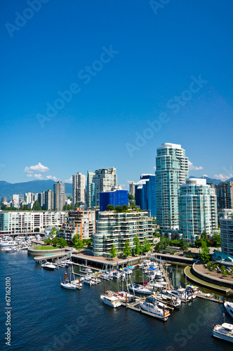 Beautiful view of Vancouver, British Columbia, Canada Fototapete