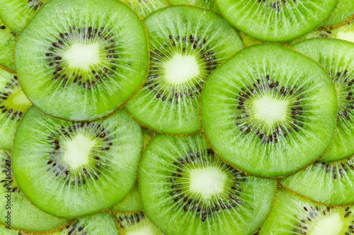 Fototapeta Background with fruit kiwi