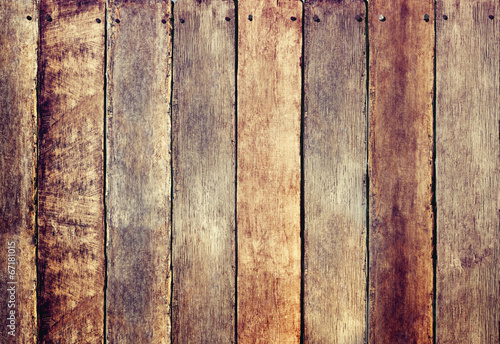 Foto op Plexiglas Wand Wooden Fence