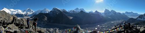 Staande foto Nepal Himalayan Panorama