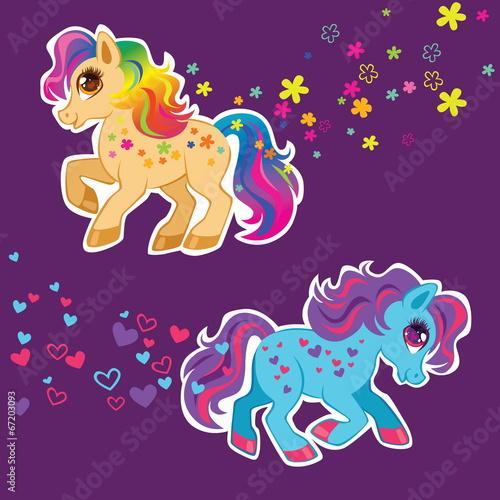 Beauty pony Canvas Print