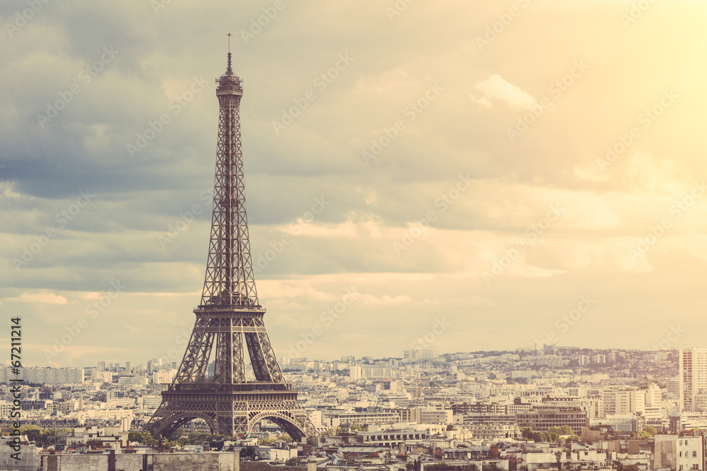 Fototapety, obrazy: Tour Eiffel in Paris