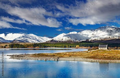 Foto op Aluminium Nieuw Zeeland Lake Tekapo, New Zealand