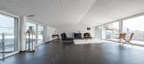 Poster Airport Interior Architecture, modern attic