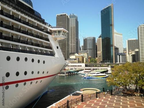 plakat Statek wycieczkowy w Sydney
