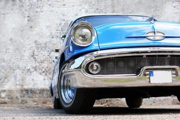 fototapeta stary zabytkowy samochód