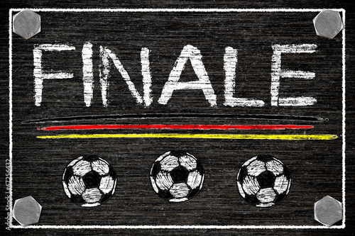 Poster  Tafel - Finale