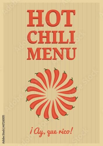 czerwony-chili-plakat