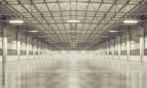 Aluminium Prints Industrial building background