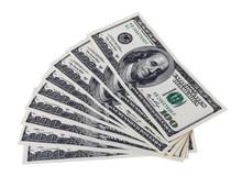 Hundred Dollar Bills For Backg...