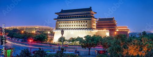 Keuken foto achterwand Peking Qianmen Gate in Beijing