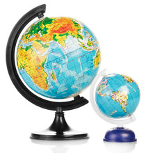 Two Terrestrial Globes