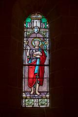 Obraz na SzkleVitrail d'église