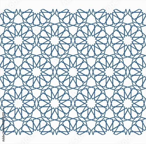 traditional turkish geometric design Canvas Print