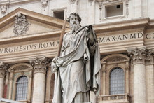 Statue Of Saint Paul The Apost...
