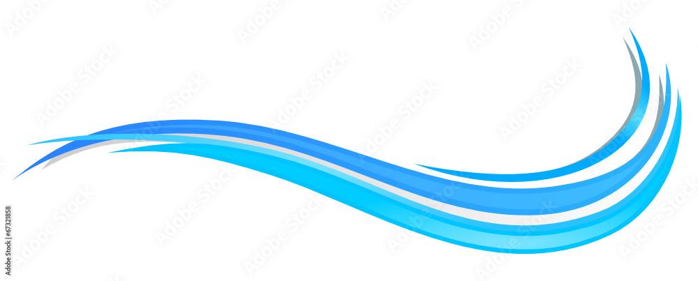 Fototapeta Wasser Welle
