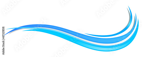 Obraz Wasser Welle - fototapety do salonu