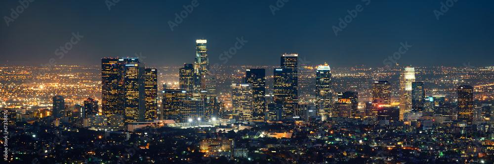 Fototapety, obrazy: Los Angeles at night