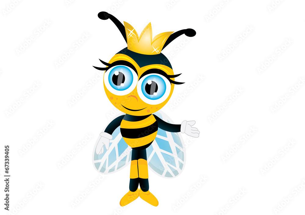 Fototapety, obrazy: królowa pszczół