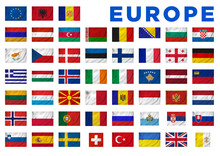 Europe Flags