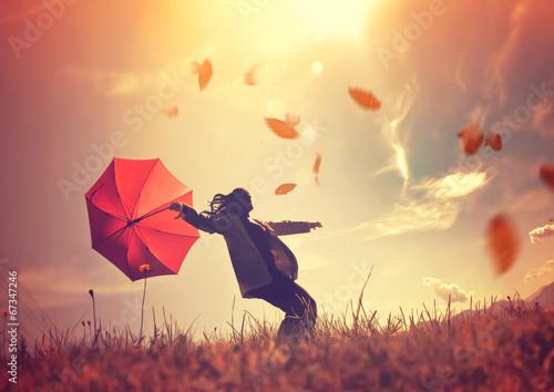 Fotografia, Obraz autumn wind 01