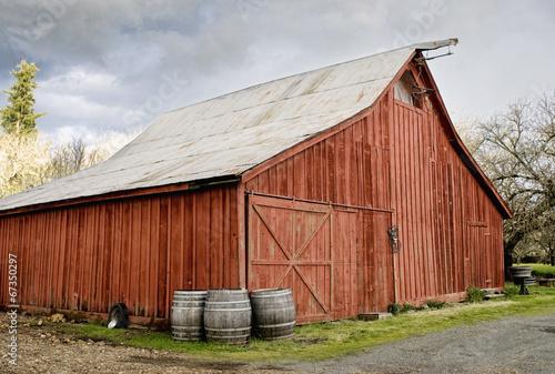 Fotografie, Obraz  Red Barn