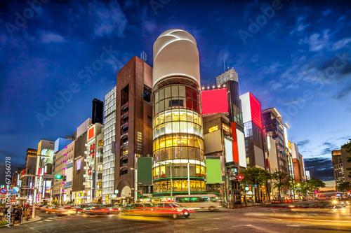 Foto op Canvas Tokyo Ginza in Tokyo