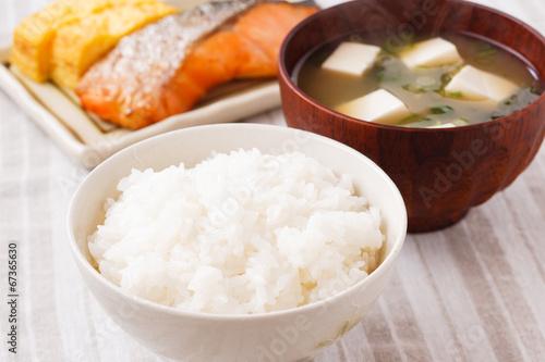 Photo  日本の朝食