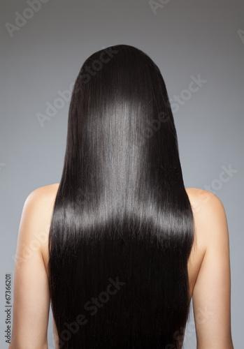 Long straight hair Plakát