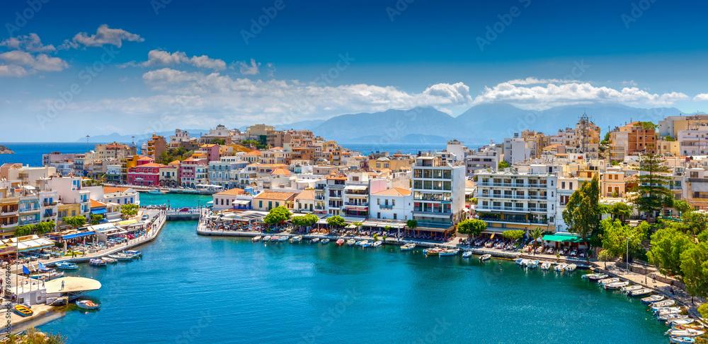Fototapeta Agios Nikolaos.