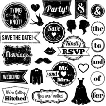 Vector Collection Of Vintage W...