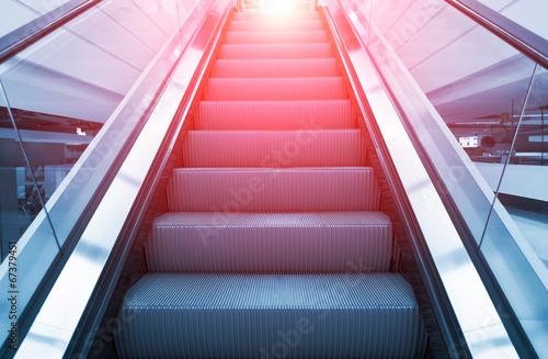 Fotografie, Obraz escalator