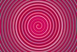 Spirale in Pink
