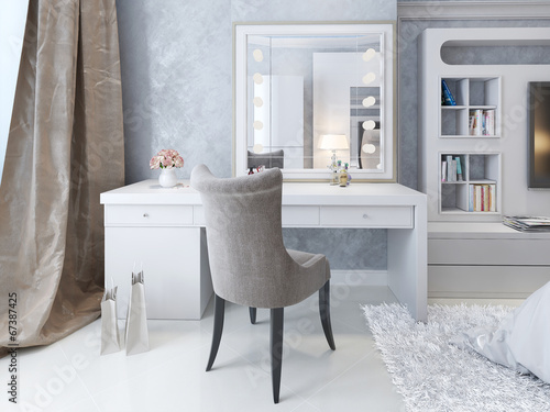 Fotografie, Obraz  luxury bedroom interior
