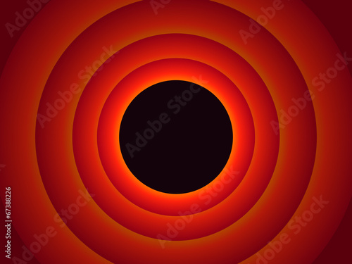 Photo  Colored circles background - red