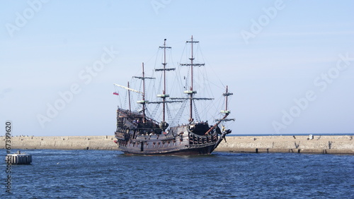Foto auf AluDibond Schiff SONY DSC
