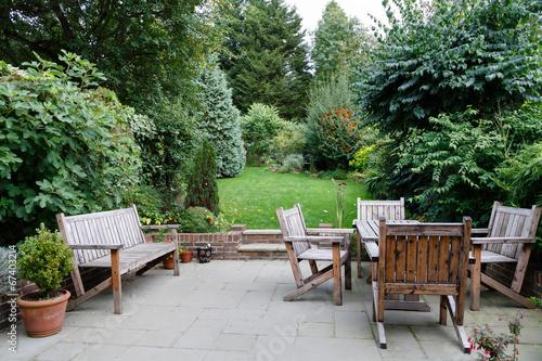 Fotografía  Muebles de jardín Patio