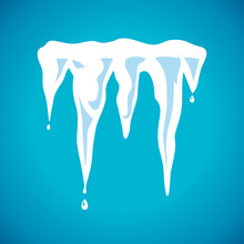 Vector Spring Icicles