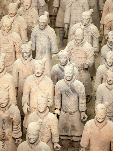Papiers peints Xian Terracotta Army in Xian