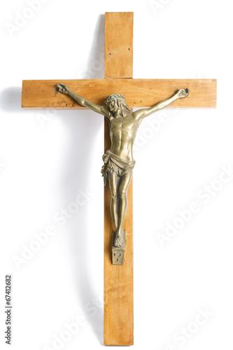 Fotografie, Obraz  Old Crucifix