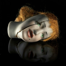 Creepy Woman's Head Dummy