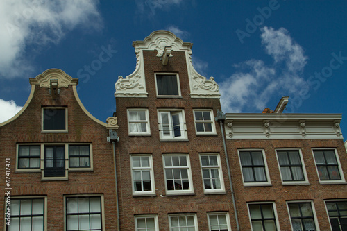 Photo  Amsterdam in summer