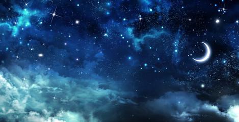 Fototapeta beautiful background, nightly sky